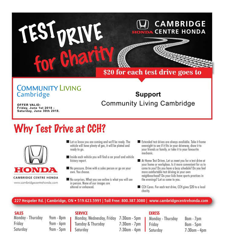Test Drive for Charity
