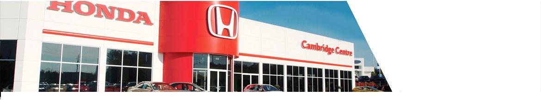 Best Honda Dealer Cambridge | Cambridge Centre Honda Cambridge