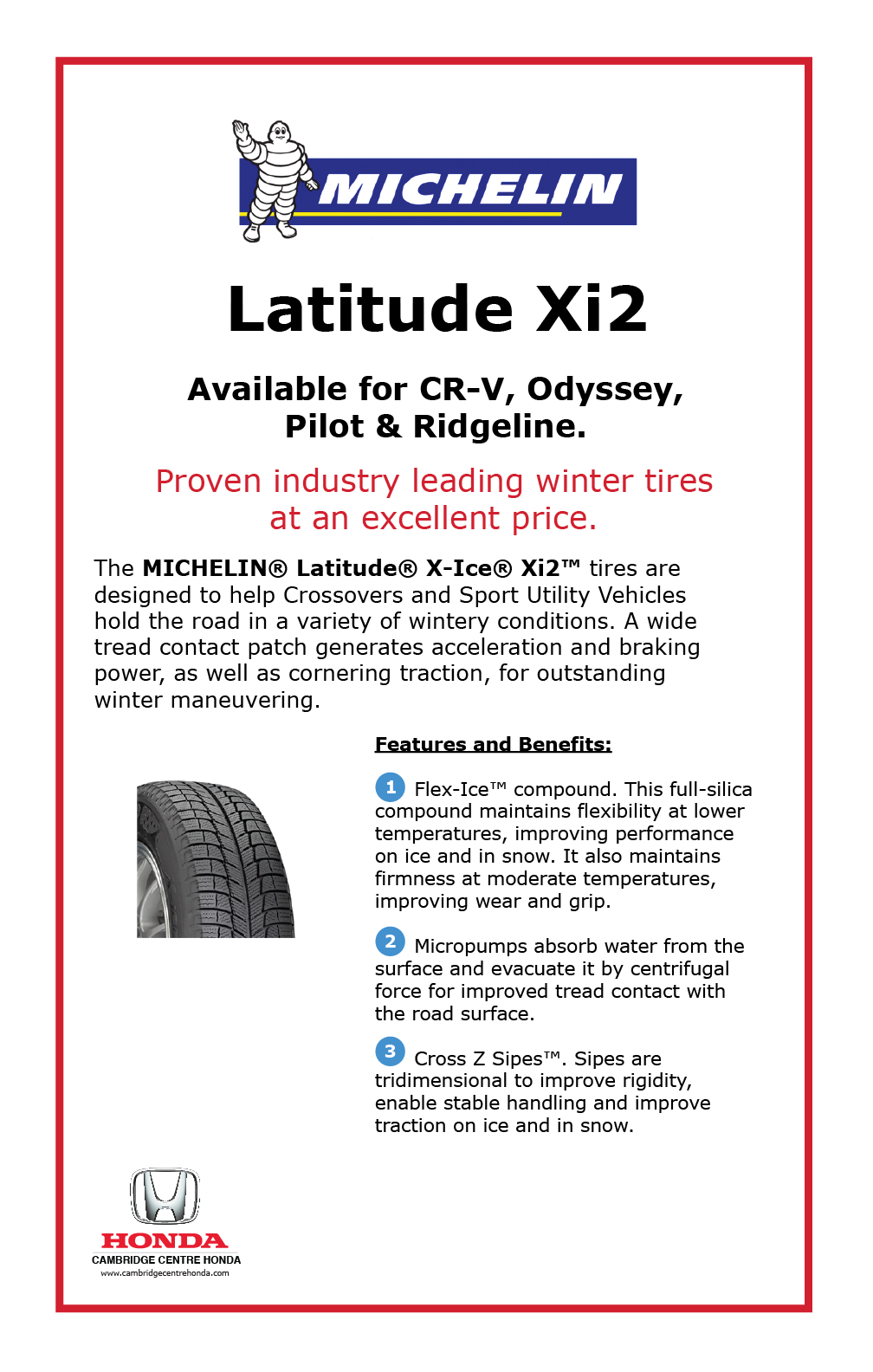 Michelin Latitude Xi2
