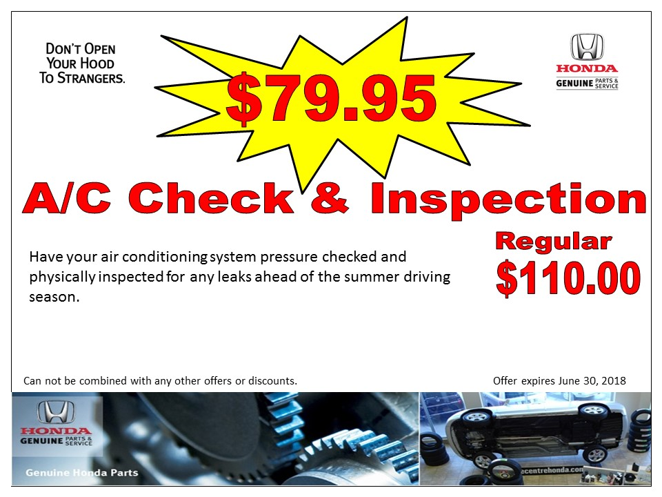 A/C Check & Inspection