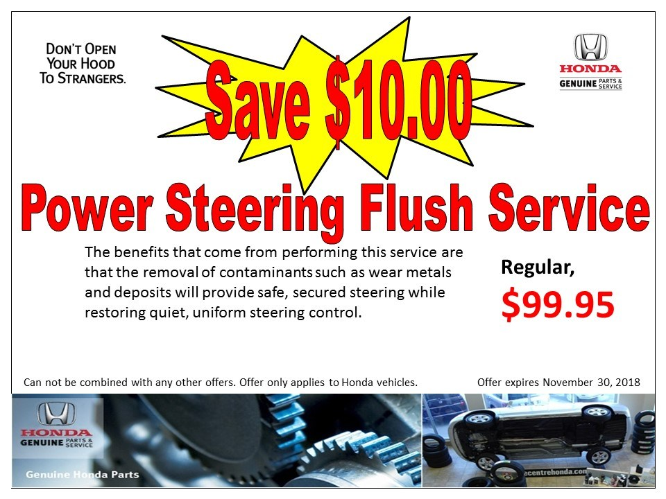 Power Steering Flush Service