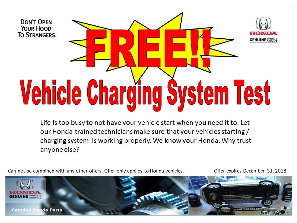 Free!! Vehicle Charging System Test