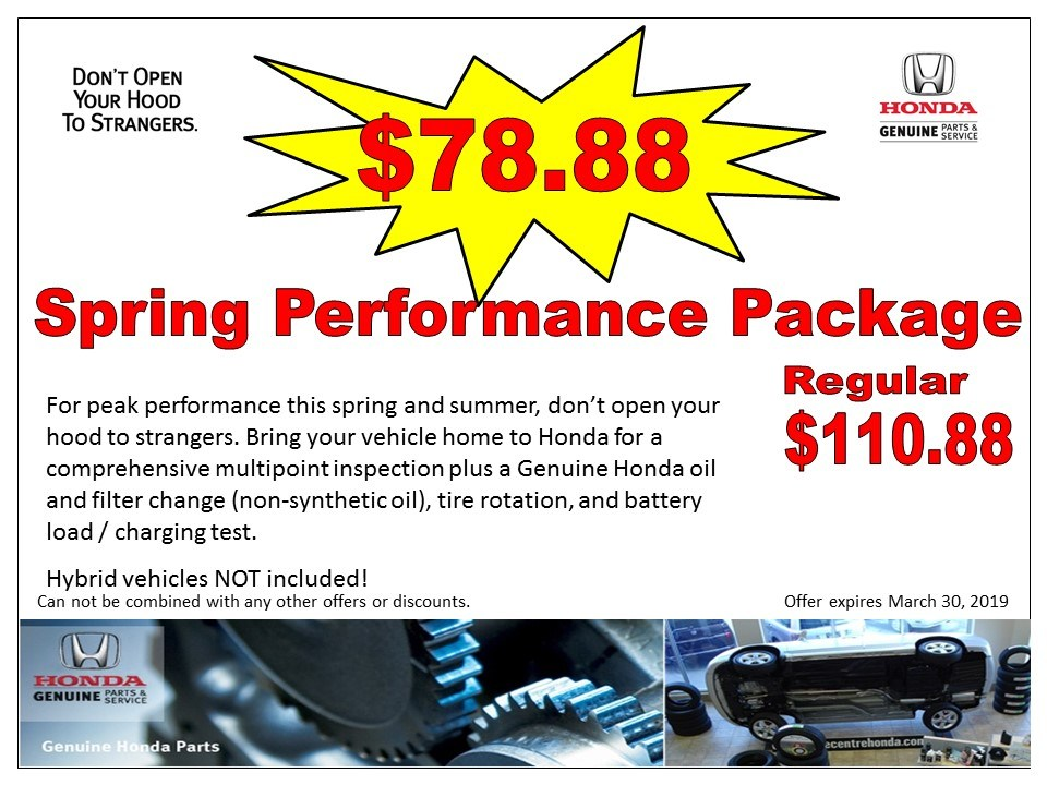 Spring Performance Package