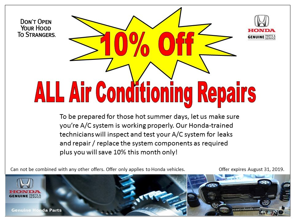 10% Off – ALL Air Conditioning Repairs