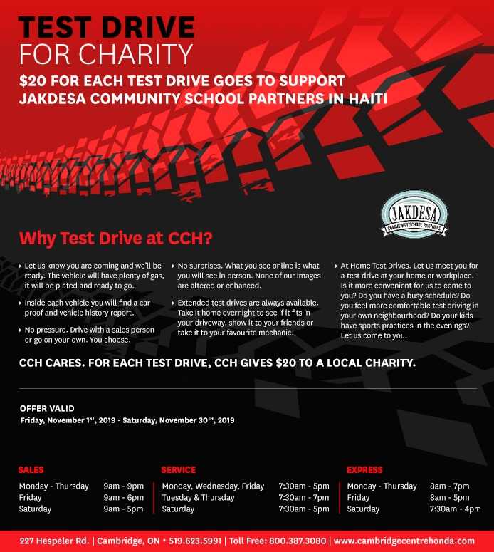 CambridgeCentreHonda-UpdateCharityBanner