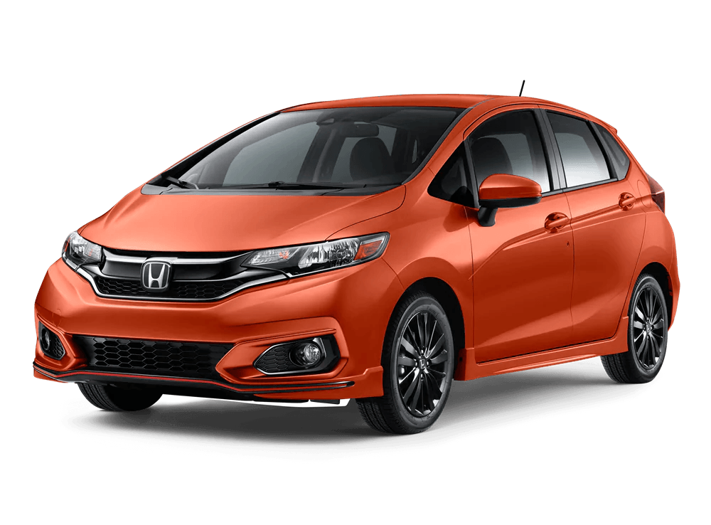 2020 Honda Fit Sport Sensing in Orange Fury