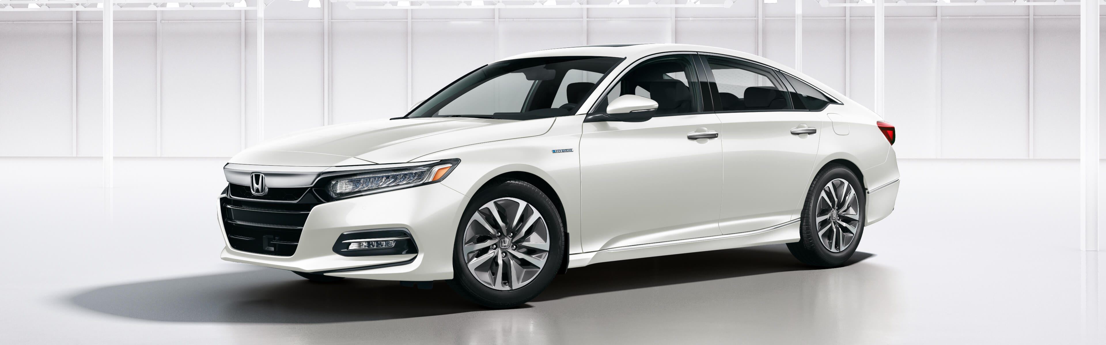 2020 Accord Hybrid in white