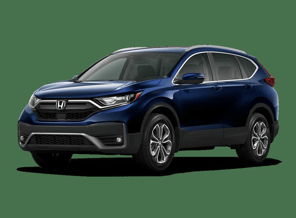 2020 Honda CR-V EX-L Front side diagonal view