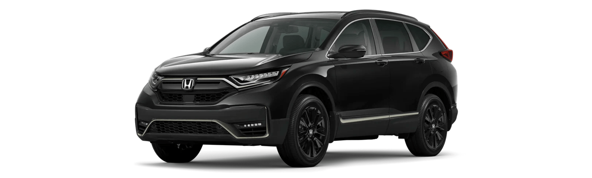 2020 Honda CR-V Black Edition on white background