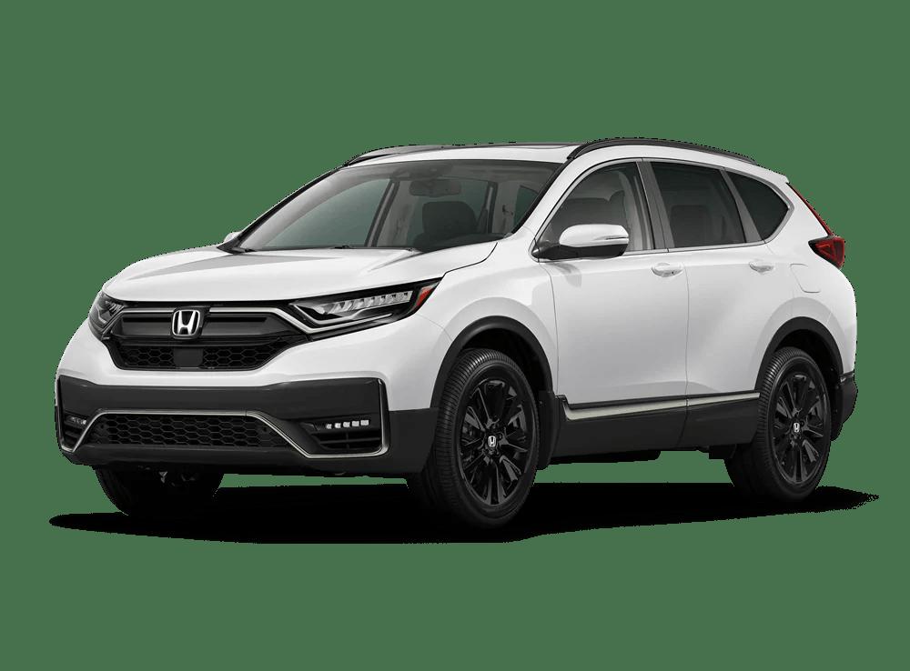 2020 Honda CR-V Black Edition in Platinum White Pearl