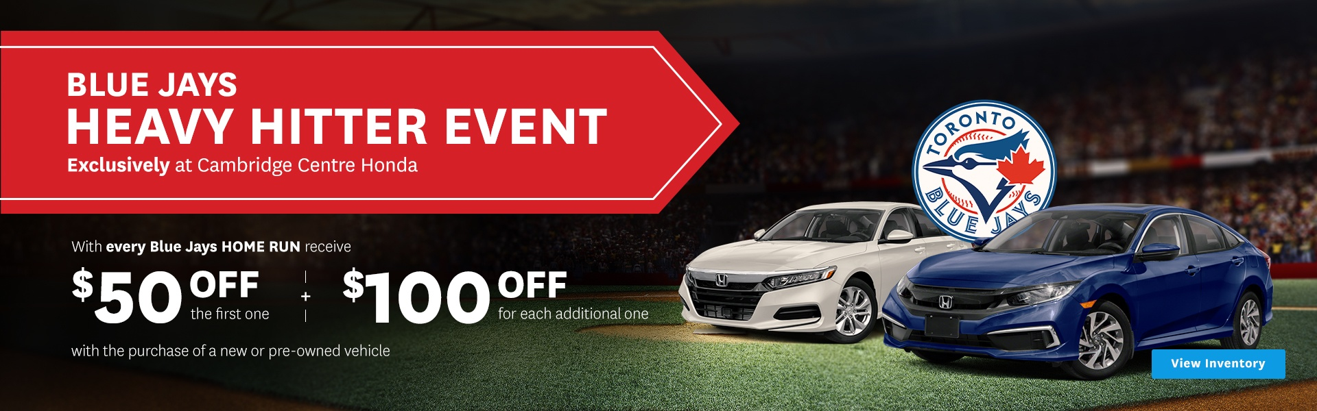 Heavy Hitter Sales Event