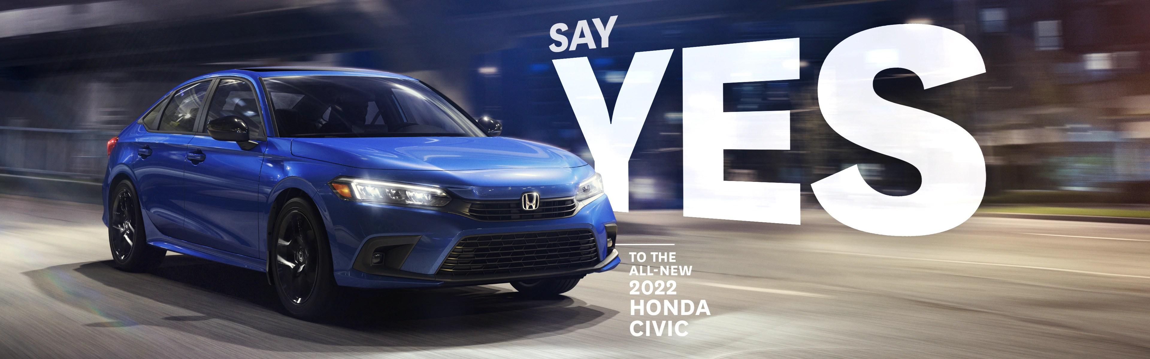 2022 Honda Civic Sedan at Cambridge Centre Honda